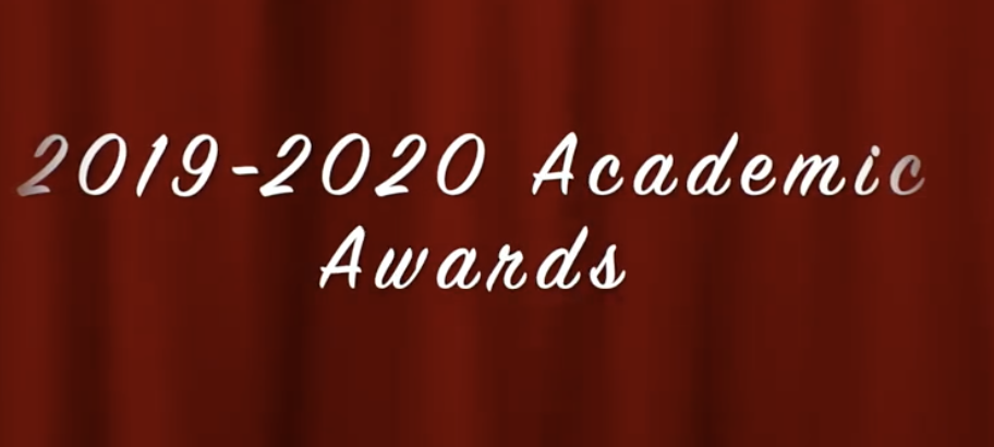 2019-2020 Middle School & High School Academic Awards